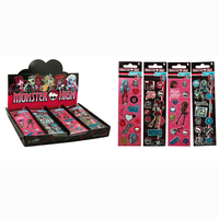Monster High stickers - 4 assorted - sheet ca 16x5cm