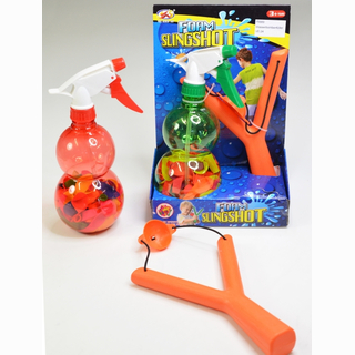 Waterbomb filler, pumping function, net, slingshot and 120 bombs, in box, 26 x 17 x 9 cm SPECIAL PRICE - DISCONTINUING SALE