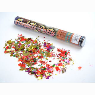 Party Popper, large confetti, colourful, 40 cm