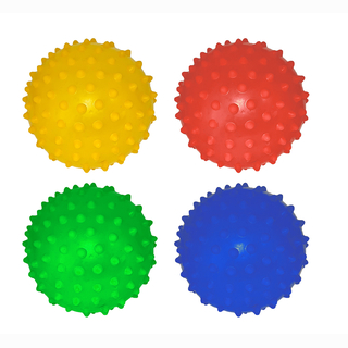 Star ball, 4 assorted, in bag, Ø 8 cm