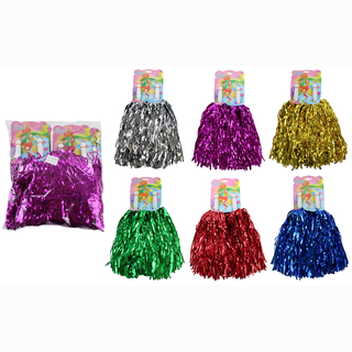 Cheerleader pompom 5 assorted approx. 36 cm